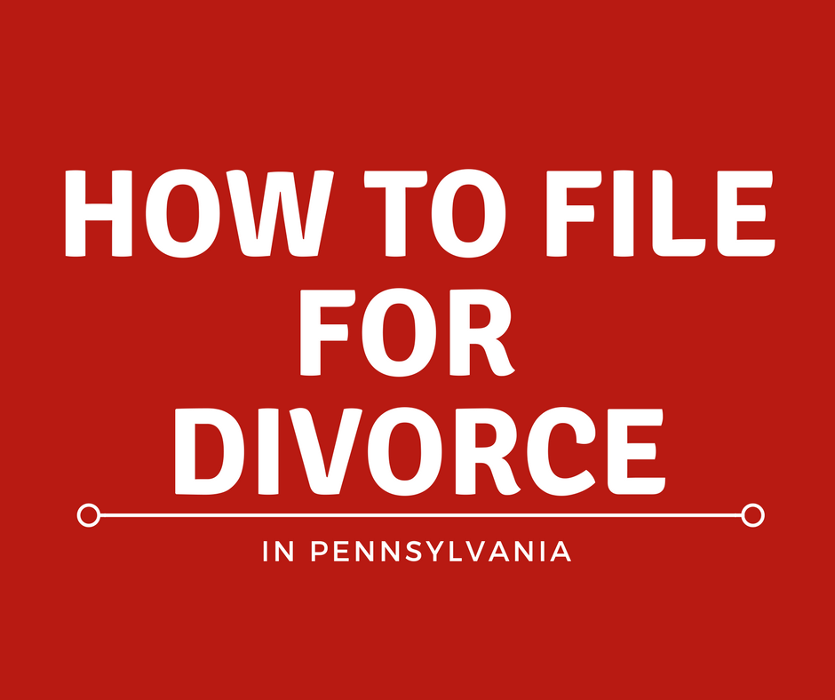 How to File for Divorce in PA blog by Carosella & Associates