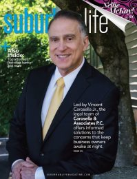 Vince Carosella featured in Suburban Life Magazine